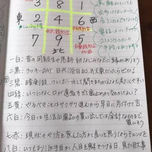★おやすみ前のノートから 4月18日(土)おうちにいながらご縁拡げる日★