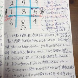 ★おやすみ前のノートから  9月27日(日)若さ路線でアドレナリンもばっちり★