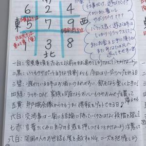 ★おやすみ前のノートから  8月4日(水)食べたいものを食べて運氣あげようぜい★