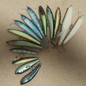 OLD Salamander lures  その2