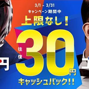 【インヴァスト証券】トライオートFX・ETFで取引キャッシュバックキャンペーン!