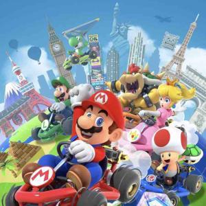 【ゲーム】マリオカート始めました🏎