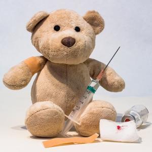 【BCG予防接種経過】反応が薄いのは接種失敗!?ハンコ注射の跡がない!