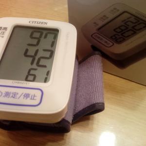 旦那の血圧が高い(´Д`゚)゚。