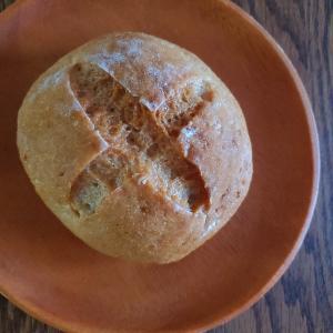 これまでで一番釜伸びした米粉のカンパーニュ