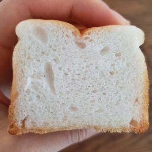 高い生地温度で4倍発酵米粉パンの大陥没を免れる