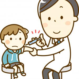 毎年恒例のインフルエンザの予防接種