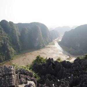 #55 チャンアンを一望!絶景のムア洞窟に行ってきた ベトナム(11)