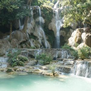 #62 クアンシーの滝でお魚たんたちとたわむれよう ラオス(5)