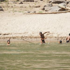 #63 メコン川スローボートの旅 ラオス(6)