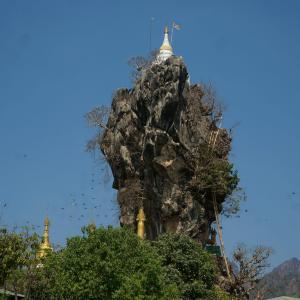 #71 奇岩の上の仏塔 ミャンマー(3)