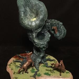怪獣図鑑版 グリーンモンス の襲来