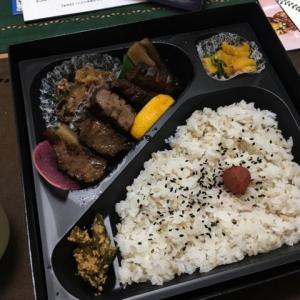 タン次郎の牛タン弁当を食す
