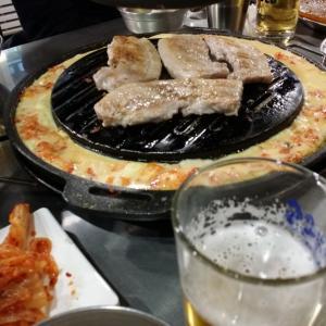 とにかく肉なら定番の新麻浦カルメギ〜鍾路〜