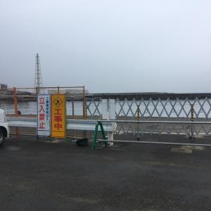 2020年2月29日深日港の様子