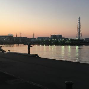 2020年12月28日深日港の様子