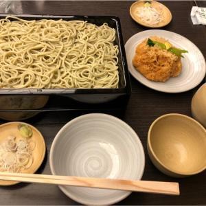 かんだやぶそばでせいろと天たねを食す。久し振りの帰国で蕎麦の風味から日本を満喫!
