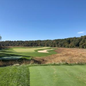 The Club at Olde Stoneで2度目のラウンド。戦略性が高くとてもチャレンジングな面白いゴルフコースです。