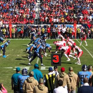 アメリカ4大スポーツ。やっぱりNFLは段違いに凄かった。タイタンズ VS チーフス (Tennessee Titans VS Kansas City Chiefs)