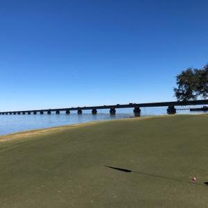 ペンサコーラ・フロリダ州でゴルフ合宿 初日 Kelly Plantaiton Golf Club
