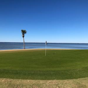 ペンサコーラ・フロリダ州でゴルフ合宿 2ラウンド目 The Links Golf Club at Sandestin あっ!ダフった…