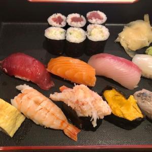 楽しみにしていた日本食 握り寿司を頼んだんですが、色々ガッカリでした…