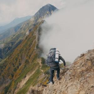 南八ヶ岳縦走の映像/初めてのアコギ録音