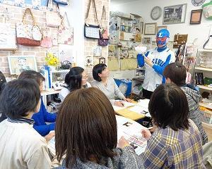マスク講座を開催しました