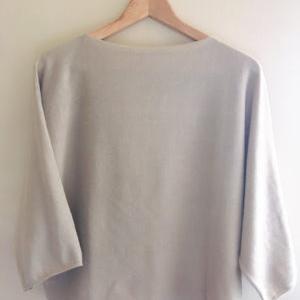 [無印良品]オーガニックコットンの秋用セーターがとてもいい