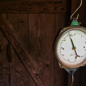 スマホ連動体重計を購入、何を改善したいか?