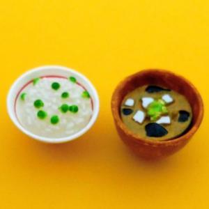 【ぷちサンプル】和食日和 コロッケ定食