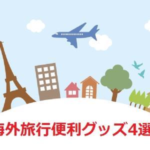 海外旅行にはこれを持って行きます!陸マイラーが便利だった海外旅行グッズ4選を紹介!