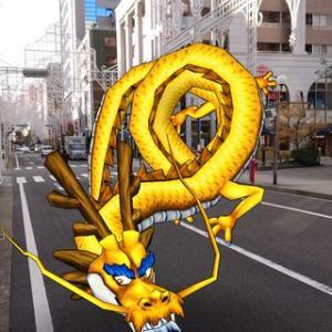 ドラクエウォークで神戸の街を散策!ルミナリエの準備が進んでます!