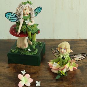 クレイでつくる妖精人形