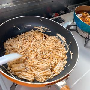 義母のだる絡みを躱したり躱せなかったりしながら常備菜を作りまくった朝。