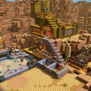 【ドラクエビルダーズ2】ブロック系初プレイ!マジ楽しすぎて…オッカムル島の冒険。ペロ部屋どこに置く?