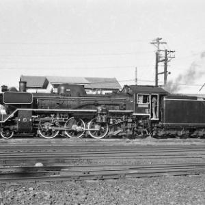 蒸機最終列車運行後の志布志線C58 その2(S50.1.19)