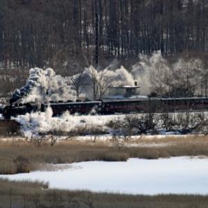 【音無支部】SL冬の湿原号 2月9日 往路(2020.2.9)
