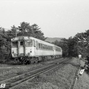博多と長崎を筑肥線・松浦線経由で結んだ急行平戸(S57.3.25)