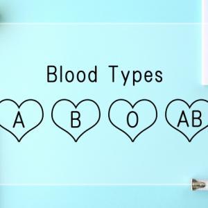 【雑談】血液型のちょっとした話