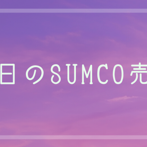 SUMCO売却とネット勧誘電話
