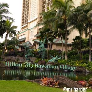 ハワイ Hilton Hawaiian village のプールについて