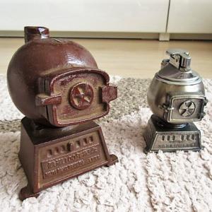 【鉄道グッズ】ヤフオクで買った、ダルマストーブのミニチュア (旭川鉄道 鉄道100周年記念品)