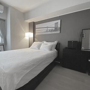 寝室を夏から冬へ衣替え。