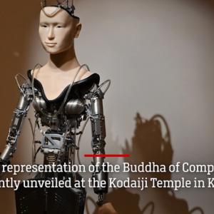 日本の寺院が開発した「アンドロイド観音」、海外メディアで絶賛 「不死のロボット説法、永久に進化」