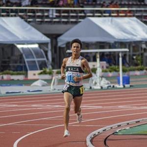 石田 洸介(東京農大二高)5000m高校記録更新13分36秒89
