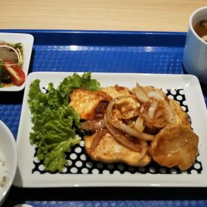 大山鶏の生姜焼き