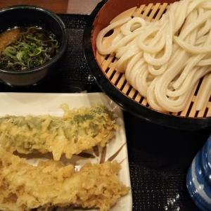 丸亀製麺のざるうどん