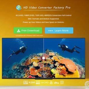 【レビュー】HD Video Converter Factory Pro|動画編集用の素材を簡単に集められます!