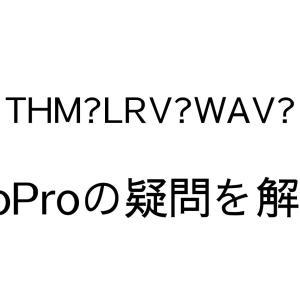 【GoProのデータファイル徹底解説】THMやLRV、WAVファイルの意味と扱い方